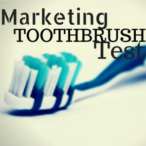 Marketing Toothbrush Test1