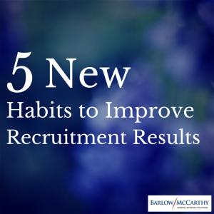 5 New Habits