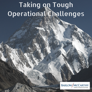 Taking on Tough Operational Challenges