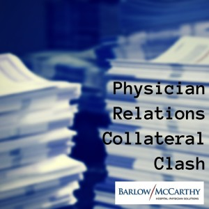 Physician Relations Collateral Clash